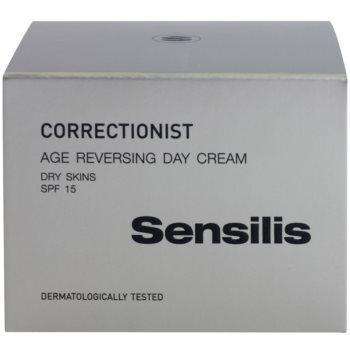 Sensilis Correctionist Tagescreme gegen erste Falten SPF 15 3