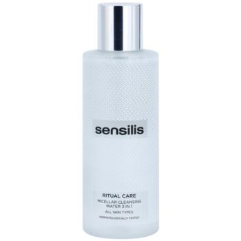 Sensilis Ritual Care apa pentru curatare cu particule micele 3 in 1  200 ml