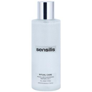 Sensilis Ritual Care apa pentru curatare cu particule micele 3 in 1