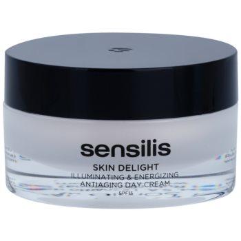 Sensilis Skin Delight crema anti-rid pentru strălucirea și vitalitatea pielii SPF 15