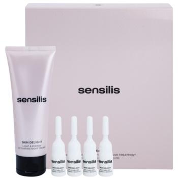 Sensilis Skin Delight komplette Nachtpflege zum Aufhellen der Haut