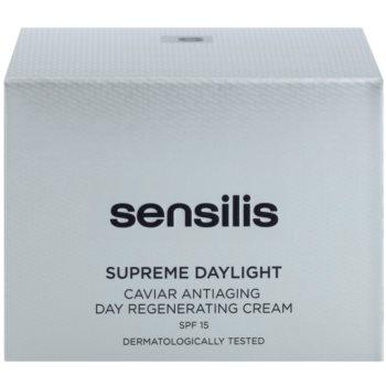 Sensilis Supreme Daylight creme regenerador anti-envelhecimento SPF 15 3