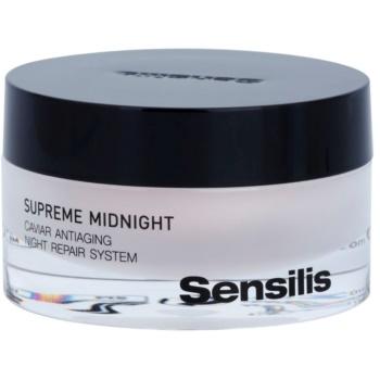 Sensilis Supreme Midnight crema de noapte pentru regenerare profunda cu efect antirid
