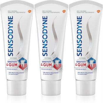 Sensodyne Sensitivity & Gum Whitening pasta de dinti pentru albire pentru a proteja dintii si gingiile imagine produs