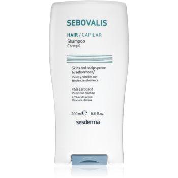 Sesderma Sebovalis zklidňující šampon proti lupům 200 ml