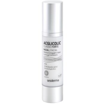 Sesderma Acglicolic Classic Forte Facial gel crema pentru un efect anti-rid complet