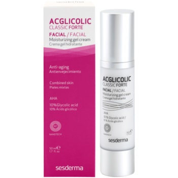 Sesderma Acglicolic Classic Forte Facial крем-гел за цялостна защита против бръчки 2