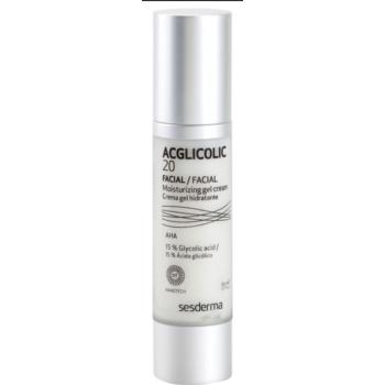Sesderma Acglicolic 20 Facial gel crema hidratanta regeneratoare pentru ten mixt