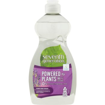 Seventh Generation Powered by Plants Lavender Flower & Mint produs pentru spãlarea vaselor imagine produs