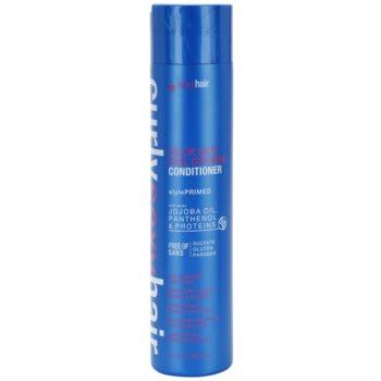 Sexy Hair Curly kondicionér pro ochranu barvy kudrnatých vlasů bez sulfátů a parabenů