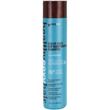 Sexy Hair Healthy Sampon hidratant pentru par vopsit. fara sulfati si parabeni