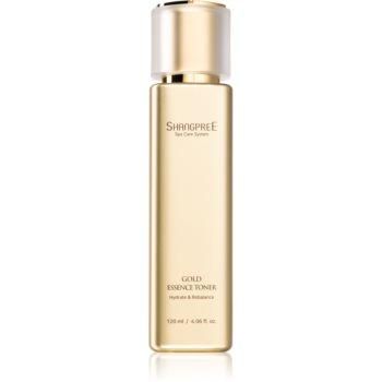 Shangpree Gold Essence tonic hidratant pentru echilibrarea pH-ului pielii
