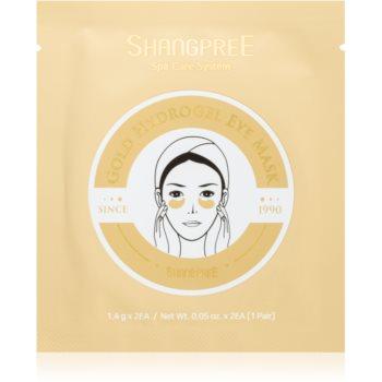 Shangpree Gold Hydrogel masca pentru ochi efect regenerator imagine produs