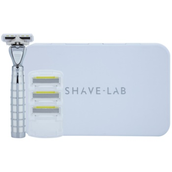 Shave-Lab Luxury Tres P.L.4 máquina de barbear + refil de 3 lâminas 2