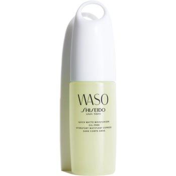 Shiseido Waso Quick Matte Moisturizer gel hidratant matifiant oil free