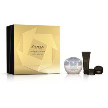 Shiseido Future Solution LX Total Protective Cream set cadou VII. pentru femei