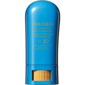Shiseido Sun Care UV Protective Stick Foundation Protectie impermeabila la apa machiaj stick SPF 30