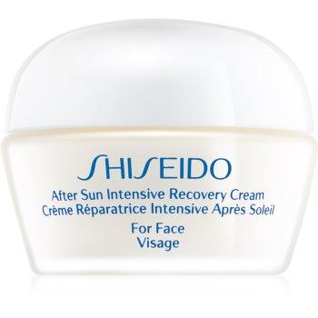 Shiseido Sun After Sun crema regeneratoare si hidratanta fata
