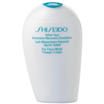 Shiseido Sun Care After Sun Intensive Recovery Emulsion emulsie reparatorie dupa soare pentru fata si corp imagine produs