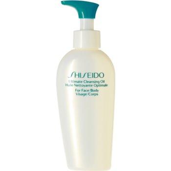Shiseido Sun Care Ultimate Cleansing Oil ulei de curatare dupa expunerea la soare