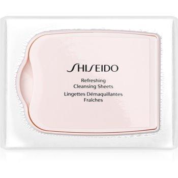 Shiseido Pureness servetele demachiante pentru curatare profunda