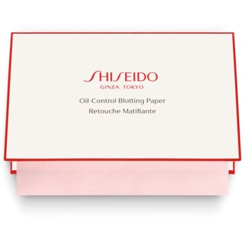 Shiseido Pureness hartii matifiante pentru ten mixt si gras