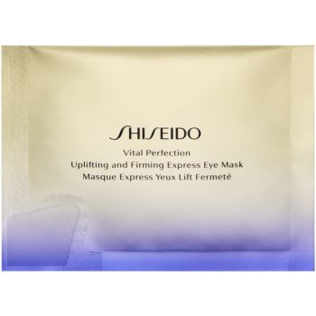 Shiseido Vital Perfection Uplifting & Firming Express Eye Mask masca cu efect de lifting si fermitate zona ochilor imagine produs