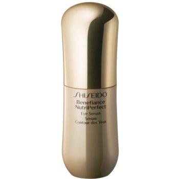 Shiseido Benefiance NutriPerfect ser pentru ochi impotriva ridurilor si a punctelor negre