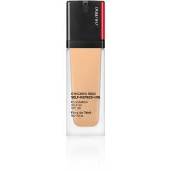 Shiseido Synchro Skin Self-Refreshing Foundation machiaj persistent SPF 30 poza
