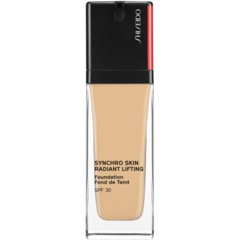 Shiseido Synchro Skin Radiant Lifting Foundation machiaj pentru lifting cu efect de stralucire SPF 30