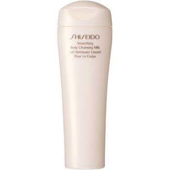 Shiseido Global Body Care Smoothing Body Cleansing Milk lapte de corp pentru dus pentru tonifierea pielii