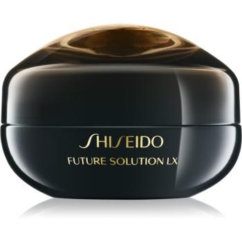 Shiseido Future Solution LX Eye and Lip Contour Regenerating Cream crema regeneratoare zona ochilor si a buzelor