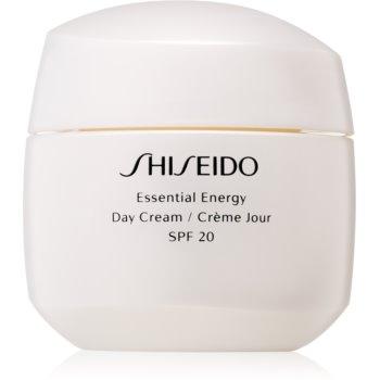 Shiseido Essential Energy crema de zi SPF 20