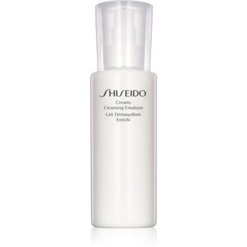 Shiseido Generic Skincare Creamy Cleansing Emulsion demachiant delicat pentru piele normala si uscata