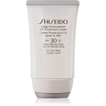 Shiseido Sun Urban Environment crema de protectie pentru fata si corp SPF 30