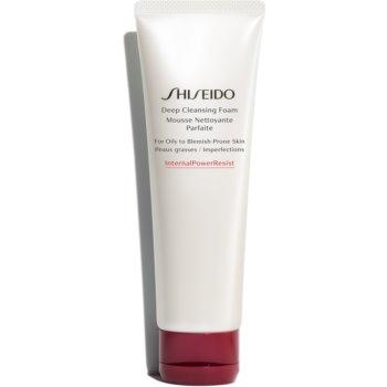 Shiseido Generic Skincare Deep Cleansing Foam Spuma curatare intensa. pentru ten gras si problematic poza noua