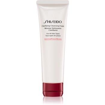 Shiseido InternalPowerResist Spuma activa pentru curatare