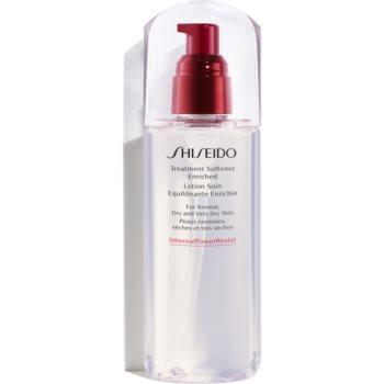 Shiseido Generic Skincare Treatment Softener Enriched lotiune hidratanta pentru fata pentru ten normal spre uscat imagine produs