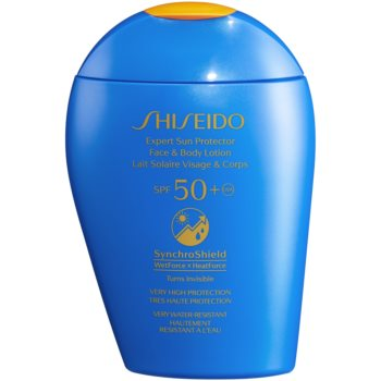 Shiseido Sun Care Expert Sun Protector Face & Body Lotion lotiune solara pentru fata si corp SPF 50+
