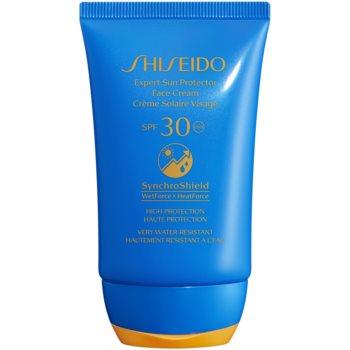 Shiseido Sun Care Expert Sun Protector Face Cream voděodolný opalovací krém na obličej SPF 30 50 ml