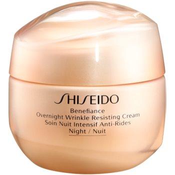 Shiseido Benefiance Overnight Wrinkle Resist Cream crema de noapte antirid imagine