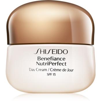 Shiseido Benefiance NutriPerfect crema de zi de intinerire SPF 15