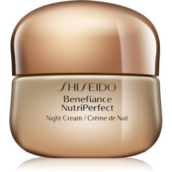 Shiseido Benefiance NutriPerfect crema de noapte revitalizanta antirid