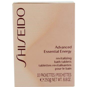 Shiseido Body Advanced Essential Energy Badetabletten 2