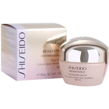 Shiseido Benefiance WrinkleResist24 Tagescreme gegen Falten SPF 15 2