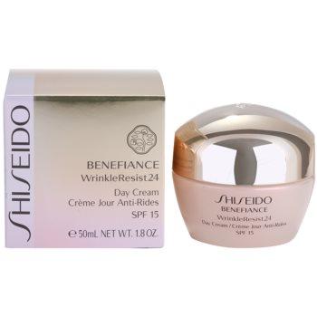Shiseido Benefiance WrinkleResist24 Tagescreme gegen Falten SPF 15 3