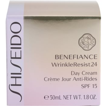 Shiseido Benefiance WrinkleResist24 Tagescreme gegen Falten SPF 15 4