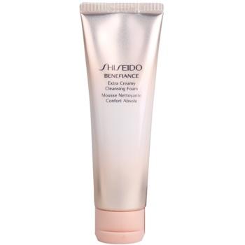 Shiseido Benefiance demachiant spumant delicat cu efect de hidratare  125 ml