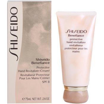 Shiseido Benefiance защитен крем за ръце SPF 8 2
