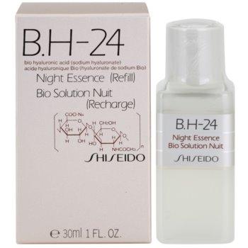 Shiseido B.H-24 tratament regenerator pentru noapte cu acid hialuronic rezerva 1